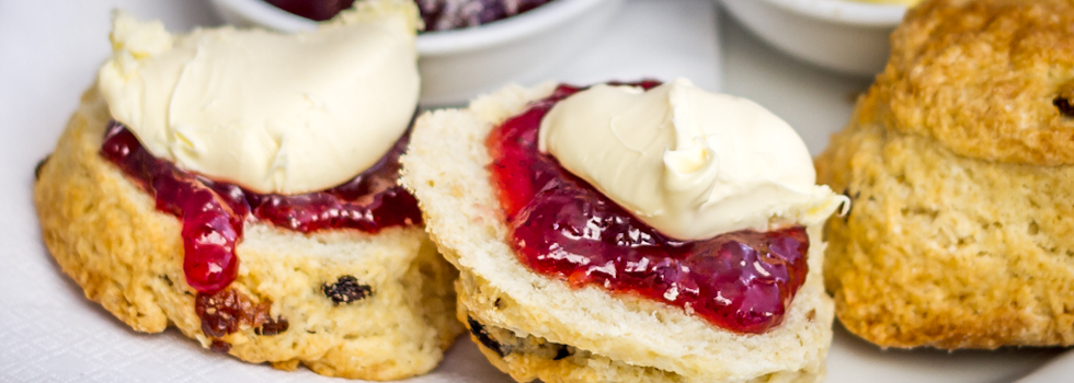 Bramble Cottage residential home cream tea